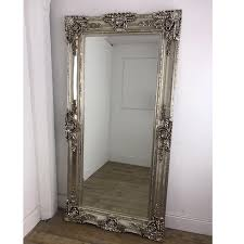 Leon Ornate Large Mirror Champagne