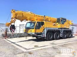 Sold 2003 Liebherr Ltm 1060 2 All Terrain Crane Crane For In