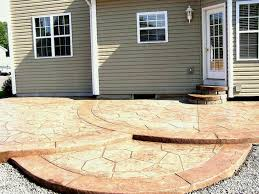 Concrete Patio Ideas Us Stunning Designs Layouts Images Layout