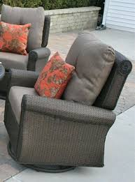 wicker swivel rocker chair cushion outdoor rocking designs the collection all weather cast aluminum patio furniture