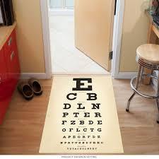 Eye Chart Doctors Office Floor Graphic Break Room In 2019