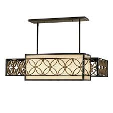 styles of lighting. Antique Iron And Flax Shade Chinese Style Chandelier 11407 Styles Of Lighting