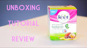 veet warm sugar wax review tutorial unboxing