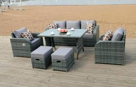 modern patio and furniture medium size grey rattan garden furniture dining sets astonishing hospitality rattan