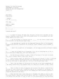 Counter Affidavit Crime Justice Criminal Justice