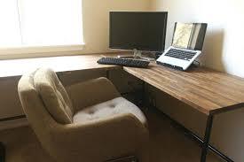 best home office computer. diy ikea butcher block countertops as desk insideways custom essentially our best home office computer