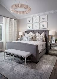 grey paint color for bedroom. paint color is dunn edwards miners dust. trim sherwin williams extra white. grey bedroom for r