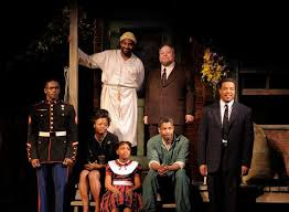 best manditory assignment images wilson  fences by wilson essay denzel washington and viola davis interviewed by kareem abdul