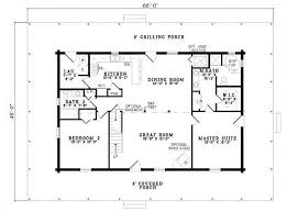 3 bed 2 bath house plans inspiring ideas 4 plan 110 00945 4 bedroom 3 bath log home plan