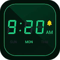 Digital Alarm Clock Bedside Clock Stopwatch Timer Android