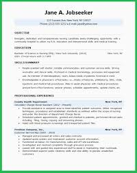 Lpn Sample Resume Adorable Sample Lpn Resume Objective Awesome Nurse Objective For Resumes