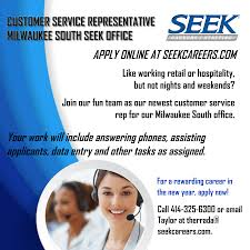 seek careers staffing linkedin interested in starting a rewarding career putting your customer service skills to work at our milwaukee south office