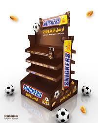 Football Stands Display SNICKERS Display Stand on Behance 50