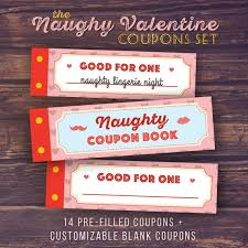 Diy Coupon Book Gift For Boyfriend Naughty Love Coupon Book Printable Etsy