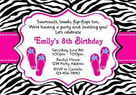 Girls Birthday Party Invitation Template Magdalene Project Org