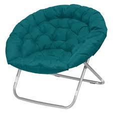 Teal Chair Plush Oversized Moon Chair Available In Multiple Colors Walmartcom