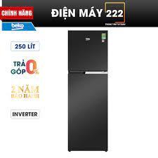 Tủ lạnh Beko RDNT271I50VWB 250 Lít Inverter 2 cánh