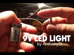 how to make a 9 volt led light a switch how to make a 9 volt led light a switch