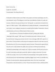 true justice plato essay moreno york university what is true 4 pages the republic of plato