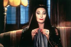 anjelica s eyes were strung up for the role