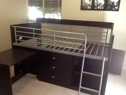 charleston storage loft bed with desk from