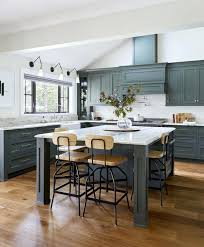 Green Kitchen Cabinet Doors