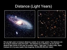 A Few Definitions Light Year Ly Distance Light Travels In One Solar System In Light Years