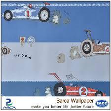 Blue Non Woven Wallpaper Car Wallpaper For Boys Room Buy Cartoon