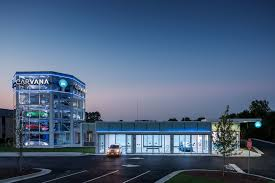 Carvana Car Vending Machine Extraordinary CARVANA Car Vending Machine Raleigh NC Harlan Erskine