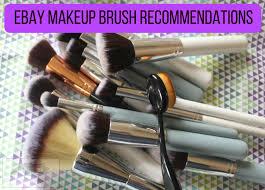 ebay makeup brush remendations