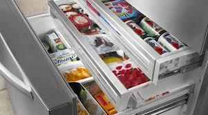 refrigerator drawers. refrigerator storage with three-tier freezer drawers. drawers r