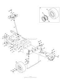 parts diagram for steering front axle