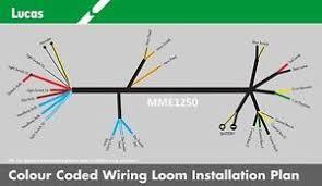 genuine lucas bsa b31 b32 b33 b34 m20 m21 m33 wiring loom cloth Trailer Wiring Harness image is loading genuine lucas bsa b31 b32 b33 b34 m20