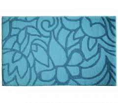 esprit flower shower aqua bath mat