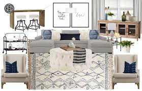 Havenly Designer Pay Contemporary Classic Glam Living Room Design By Havenly