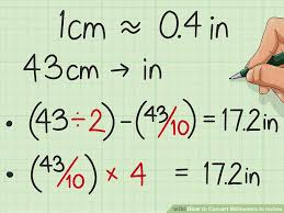 Millimeters To Inches Chart How To Convert Millimeters To Inches 9 Steps With Pictures