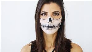 be bad to the bone this literally skull makeup is synonymous with so why not make it your costume you can glam this look up by