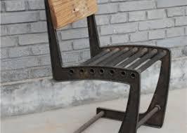 industrial metal and wood furniture. Industrial Chairs Metal And Wood Furniture L