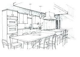 Interior design sketches kitchen Interior Layout Kitchen Design Sketch Kitchen Cabinet Sketches Large Size Of Design Sketch Within Nice Kitchen Design Sketch Kitchen Design Sketch Alexzurdoclub Kitchen Design Sketch Design Kitchen Planner Ha Kitchen Interior