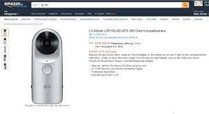 LG 360 Cam Priced €258 in Europe and Can be Ordered Today