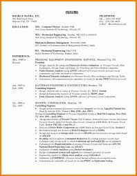 Sample Resume Pdf Engineer New Sample Resume Mechanical Engineer