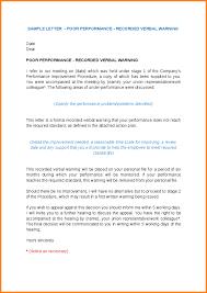 Verbal Warning Sample 27 Images Of Template Verbal Warning Letter Helmettown Com