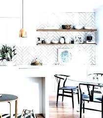 white herringbone tile backsplash white herringbone