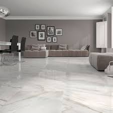 white floor tiles. Calacatta White Gloss Floor Tiles Have An Attractive Marble Effect Finish. These Large O