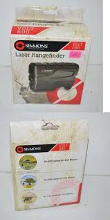 simmons 4x20 laser rangefinder. range finders 31712: simmons 801600 volt 600 vertical laser finder, black -new 4x20 rangefinder