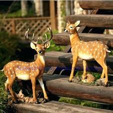 large garden deer statue garden deer statues deer garden statue metal deer garden statues deer garden