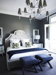 Navy And Grey Bedroom Dark Grey Walls In Bedroom Alkamediacom