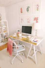 gold leafed ikea desk a little gold leafing work gives this desk a touch of