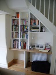 under stairs office. Amazing Under Stairs Office Uk Bookshelf Ideas Design Interior Decor: Large Size