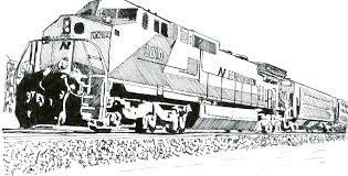 locomotive coloring pages sel train by the steam engine colori